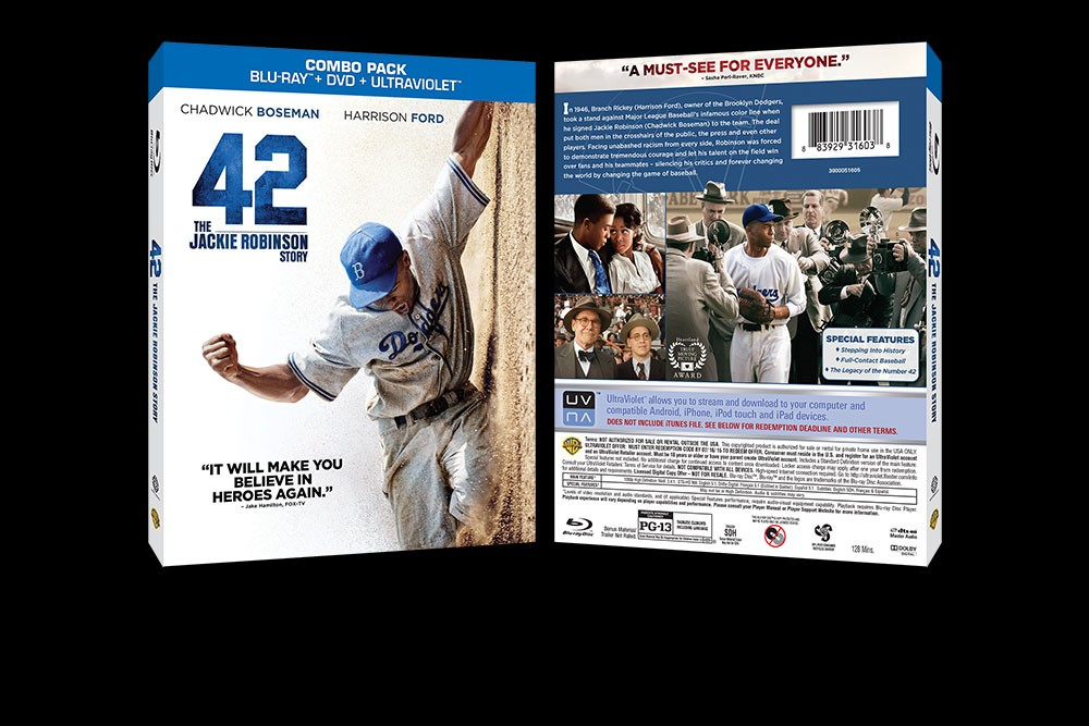aq_block_1-42: The Jackie Robinson Story - Blu-Ray Packaging