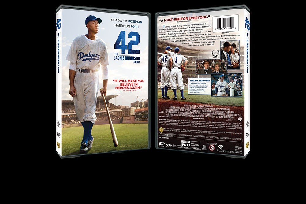 aq_block_1-42: The Jackie Robinson Story - DVD Packaging