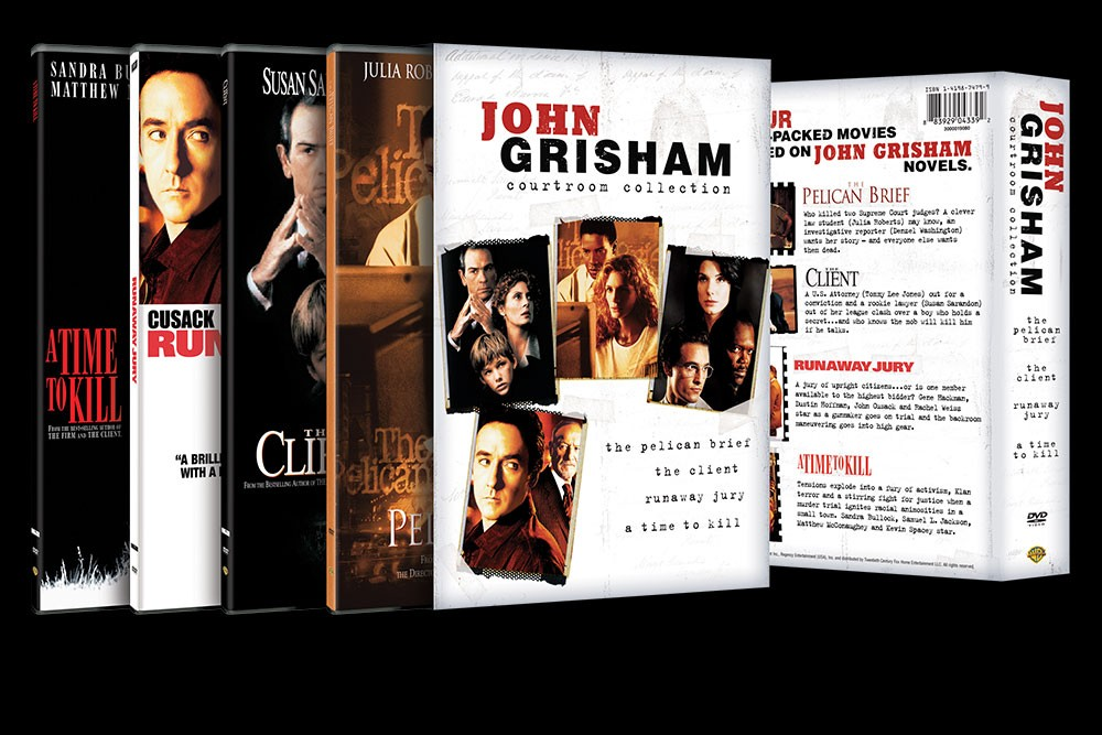 aq_block_1-The John Grisham Collection - DVD Packaging
